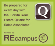 Florida Real Estate Sales Associate Exam Prep QBank - REcampus - RSVP School of Real Estate